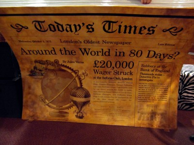Jules Verne, Around the World in Eighty Days